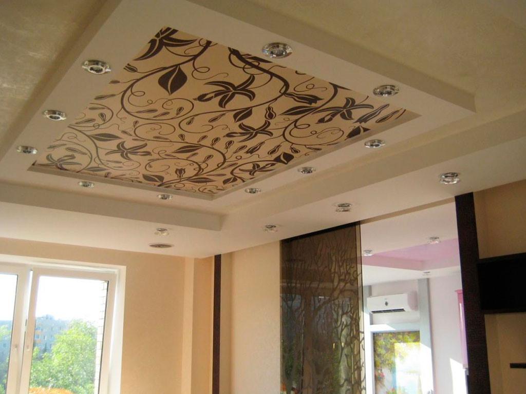 Купить тканевый натяжной потолок в Москве от производителя.