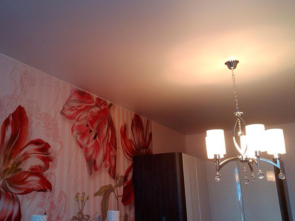 Сатиновые белые натяжные потолки стоимость от производителя