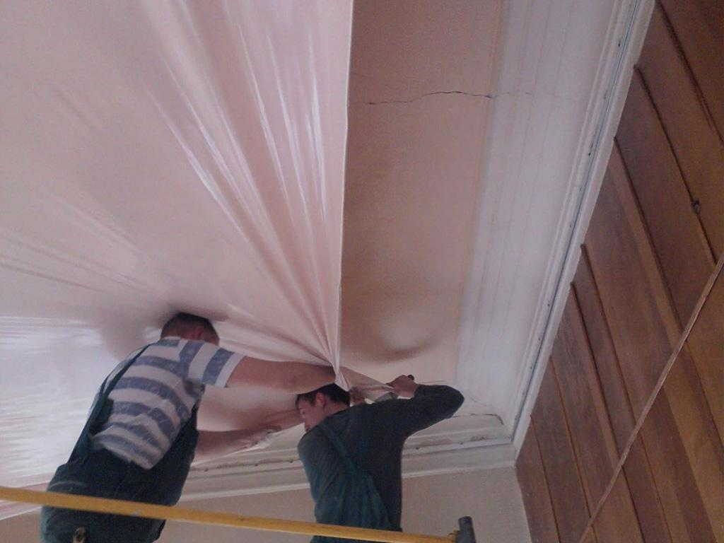 Монтаж натяжної стелі під ключ у Вінниці