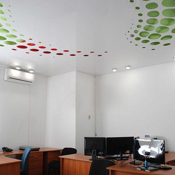Натяжні стелі в офіс
